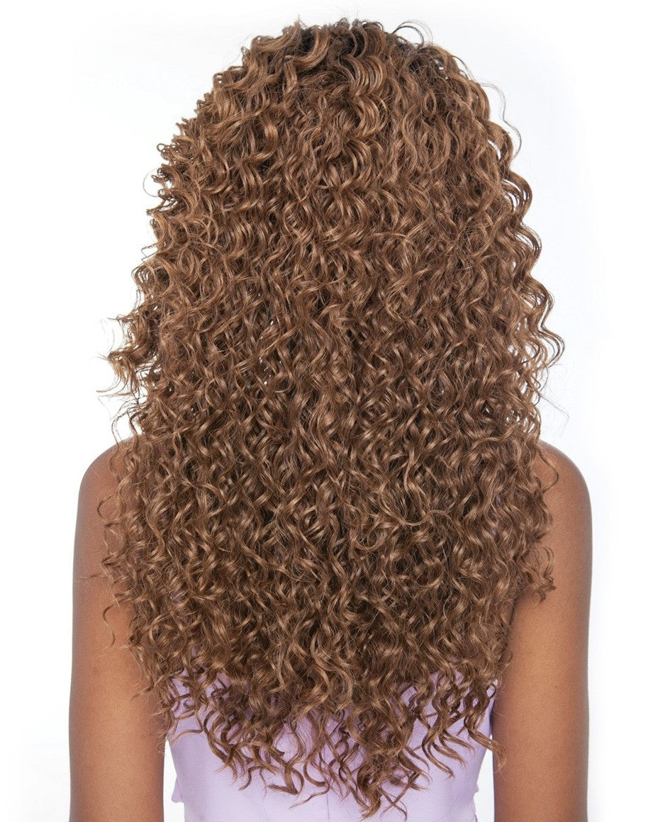 Brown Sugar Human Hair Mix Lace Front Wig BSF02