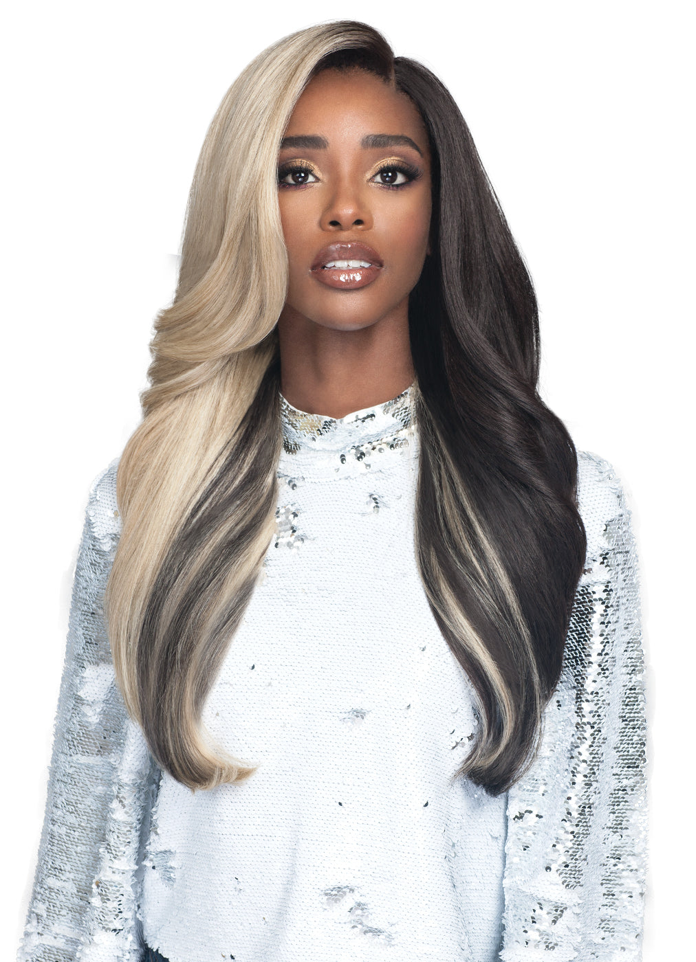 "Bobbi Boss 5"" Deep Synthetic Hair Lace Front Wig MLF386 OPHELIA"