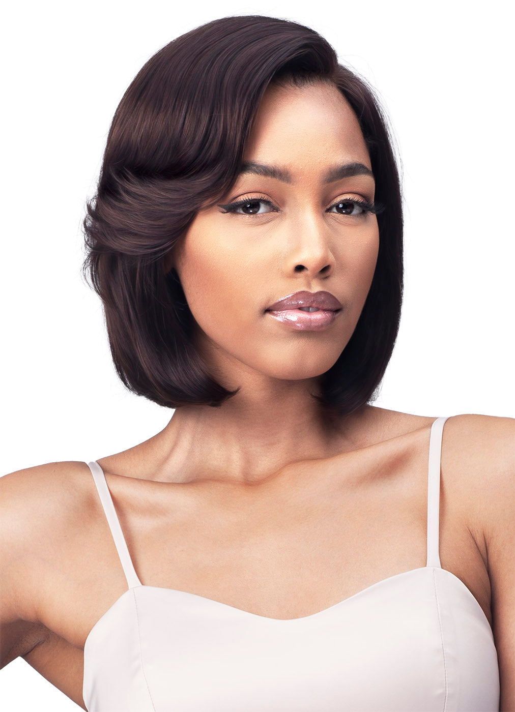 "Bobbi Boss 100% UNPROCESSED HUMAN HAIR 5"" DEEP PART Lace Front Wig MHLF540 DALEYZA"