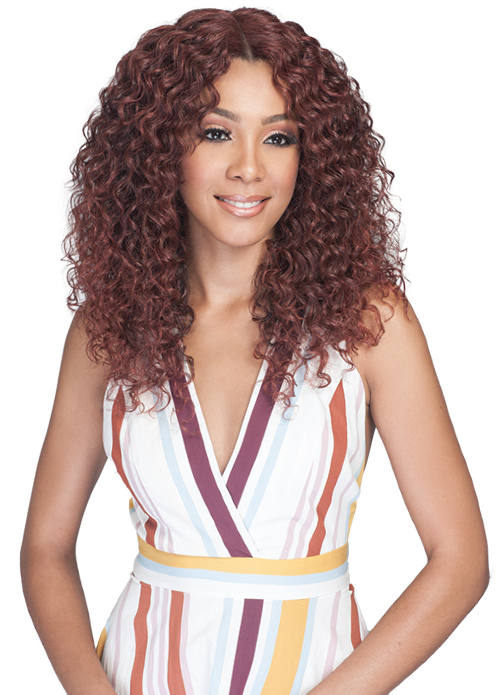 Bobbi Boss Synthetic Swiss Lace Front Wig MLF325 Zelly