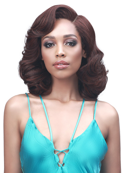 Bobbi Boss Synthetic Truly Me HD Lace Front Wig MLF542 WAN
