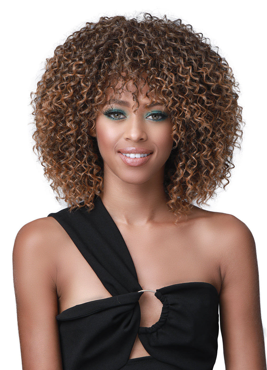 Bobbi Boss Human Hair Blend Miss Origin Wig MOG006S TINA SHORT
