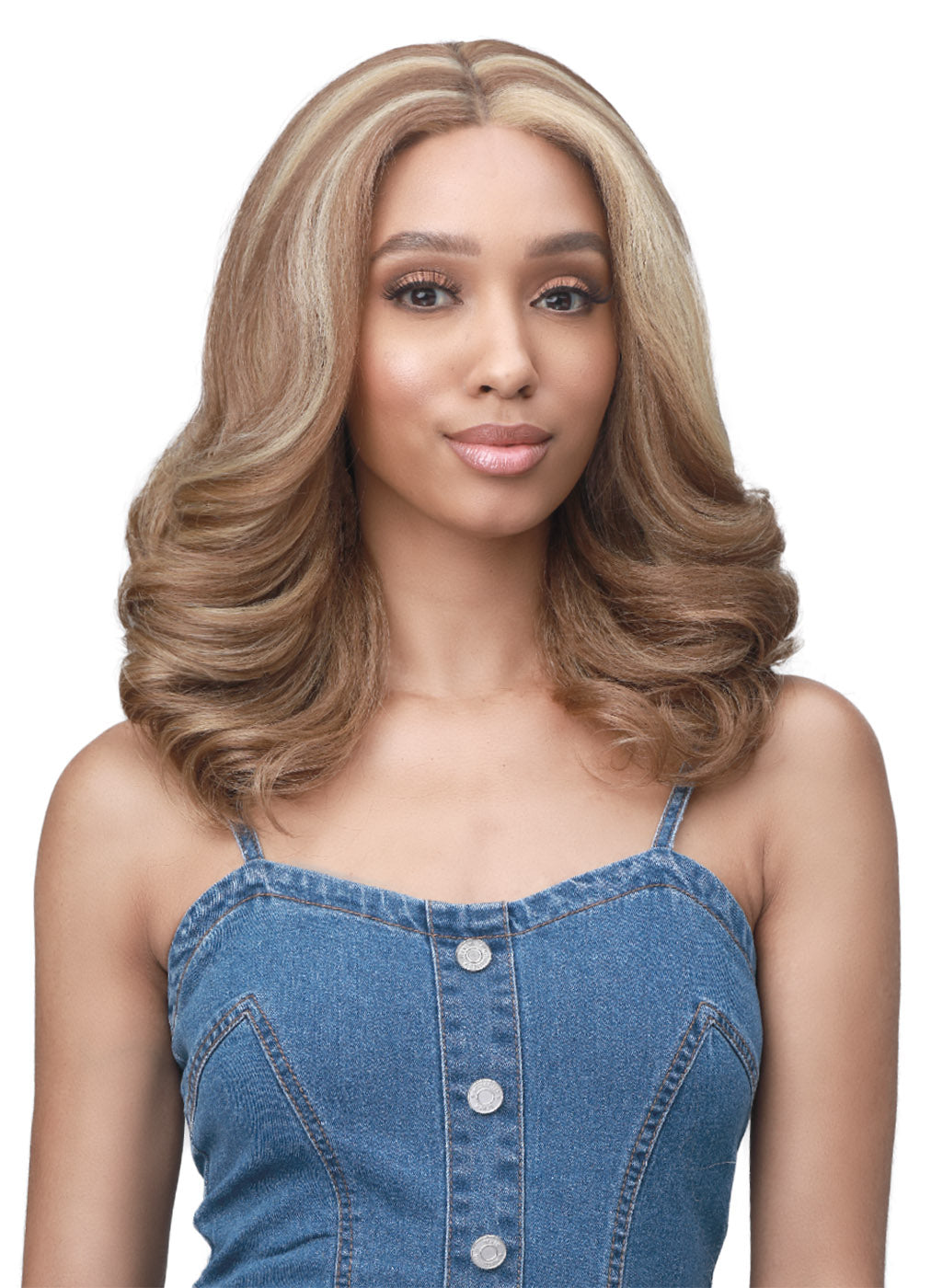 Bobbi Boss Premium Synthetic Soft Blow Out Boss Lace Front Wig MLF483 MELODY