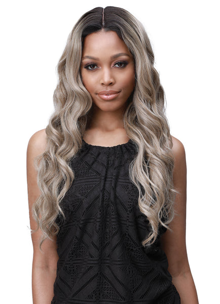 Bobbi Boss 100% Human Hair Blend Lace Front Wig MBLF230 SANA