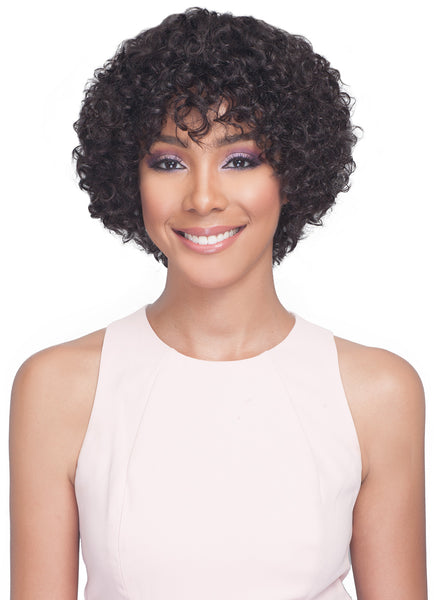 Bobbi Boss Lace Front Unprocessed Human Hair Wig MH1266 CARDI