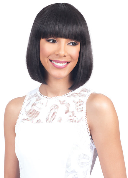 Bobbi Boss Human Hair Wig MH1263 EMA BANG