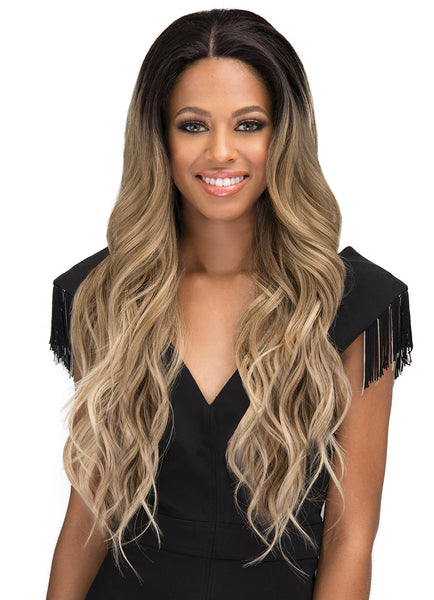 Bobbi Boss Synthetic Swiss Lace Front Wig MLF300 ERIS