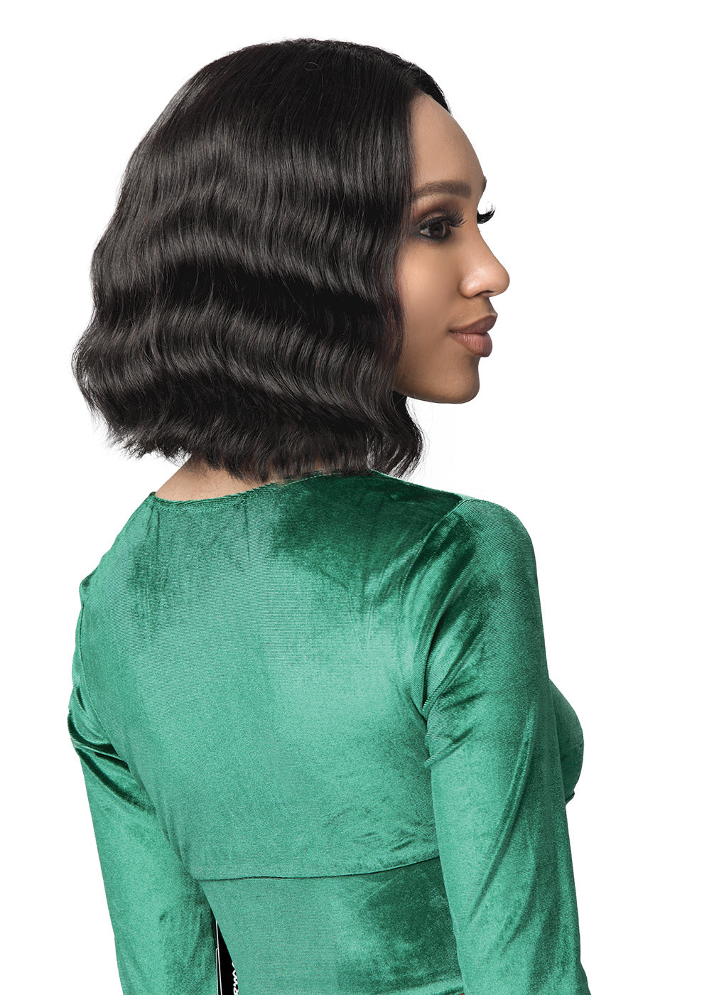"Bobbi Boss 100% Human Hair 5"" DEEP LACE PART Lace Front Wig MHLF436 KENDAL"
