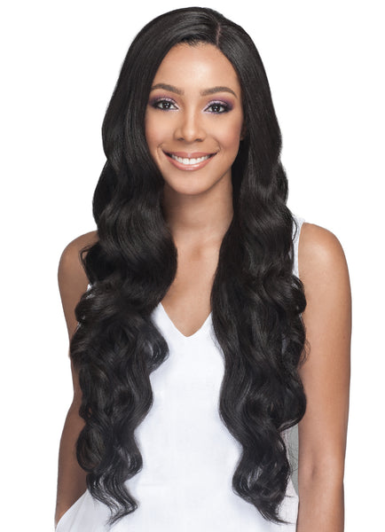 Bobbi Boss Lace Front human hair Blend Wig MBLF150 PEKELA