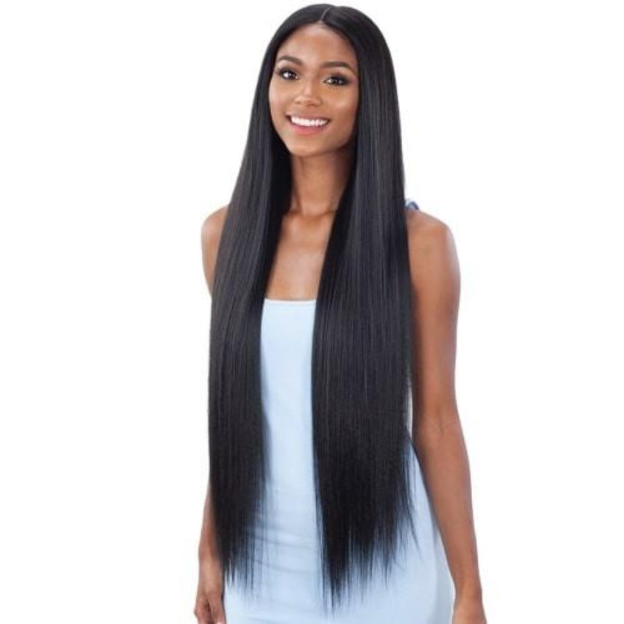 Shake N Go Organique Synthetic Lace Front Wig LIGHT YAKY STRAIGHT 36