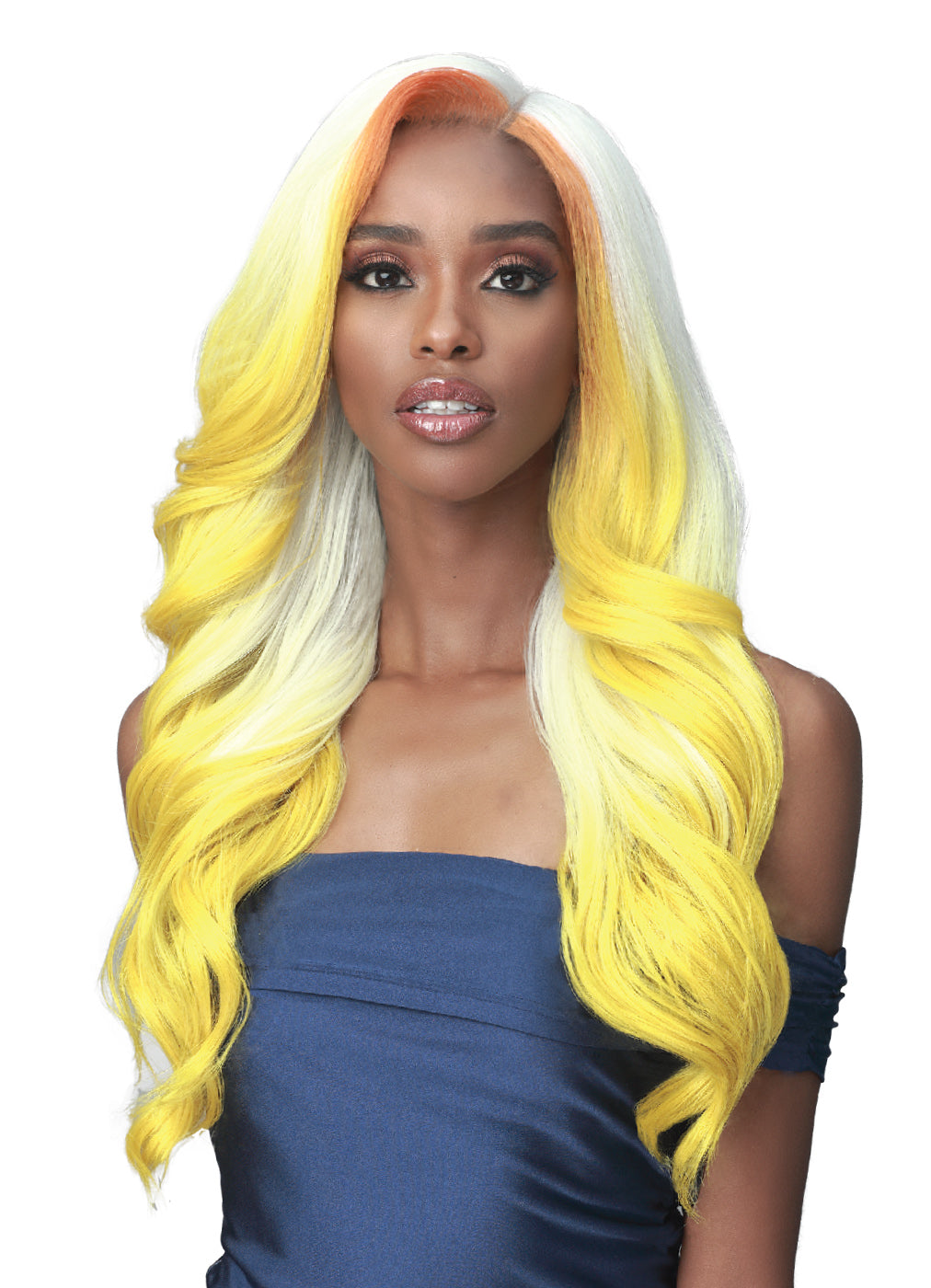 Bobbi Boss Synthetic Glueless Lace Front Wig MLF451 JACINTHA