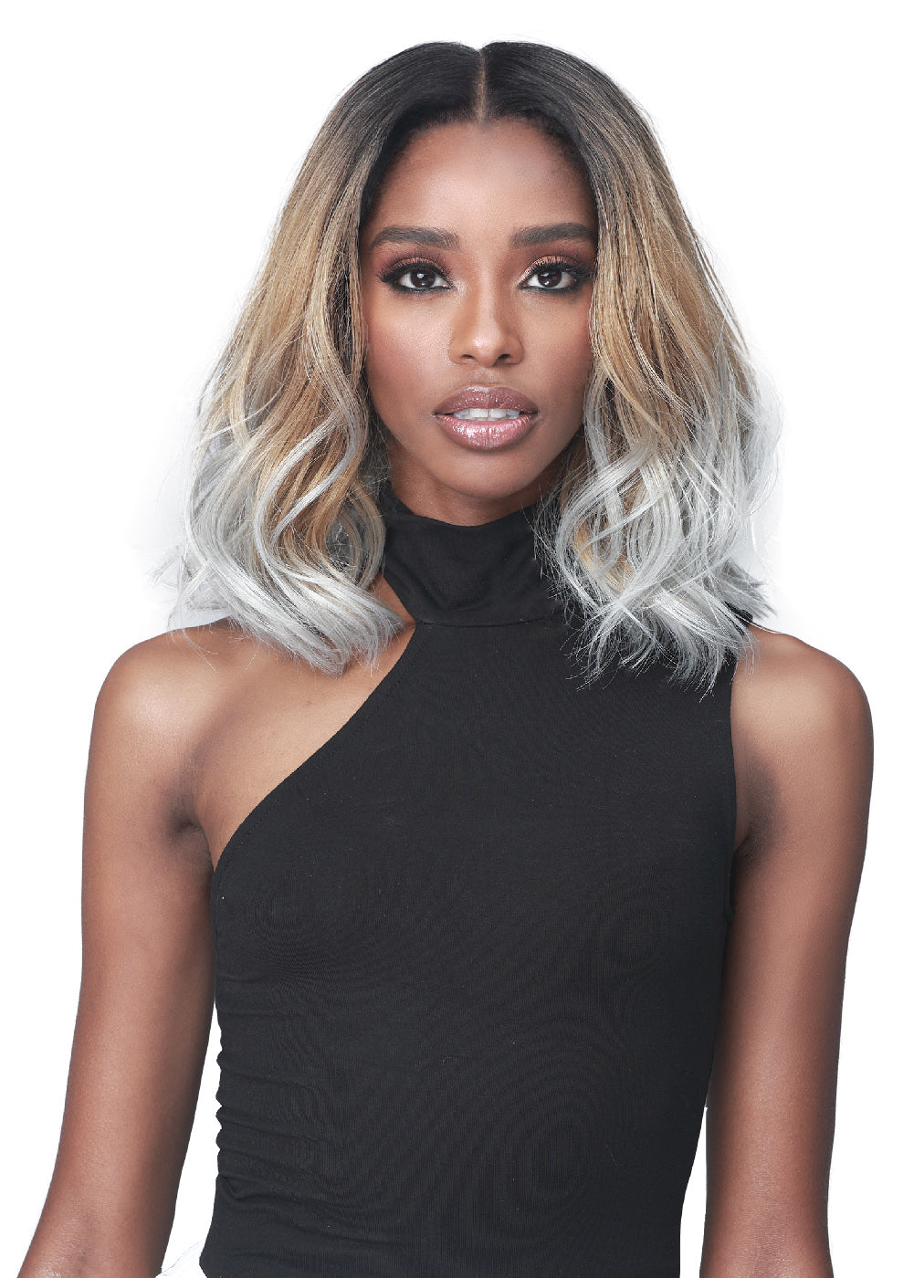 Bobbi Boss Synthetic Glueless Lace Front Wig MLF450 HARMONY