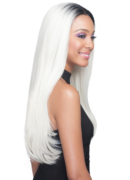 Bobbi Boss Human Hair Blend 360˚ Lace Front Wig MBLF320 ANIAH