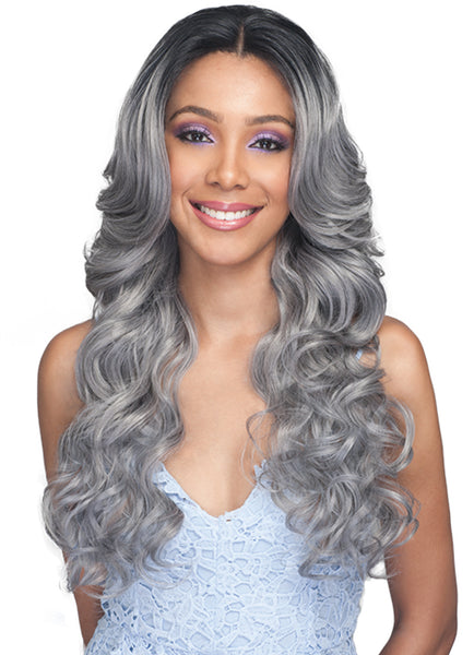 Bobbi Boss Human Hair Blend 360˚ Lace Front Wig MBLF340 KILIAH