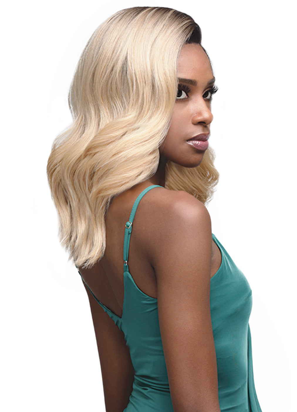 "Bobbi Boss 5"" DEEP PART Synthetic Wig MLF365 VALENCIA"