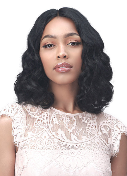 Bobbi Boss 100% Unprocessed Human Hair Lace Part Wig MHLP0005 AINSLEY