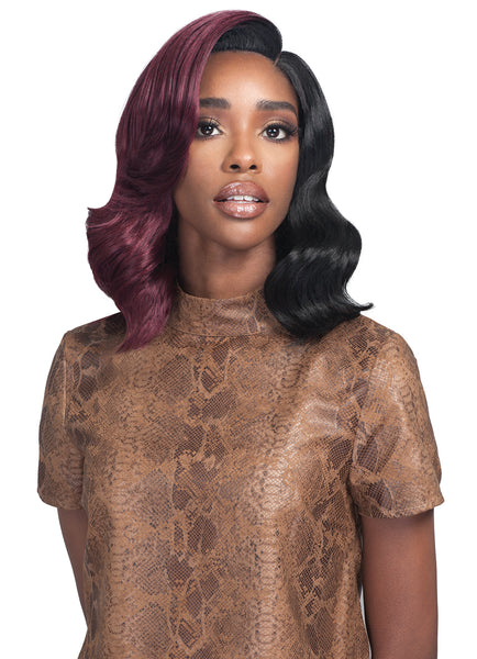 "Bobby Boss 5"" Deep Synthetic Hair Lace Front Wig MLF383 PERLA"