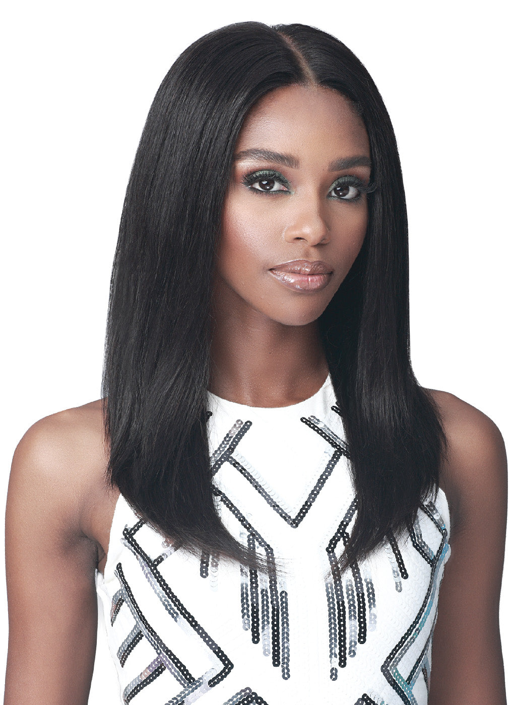 Bobbi Boss Unprocessed Human Hair 13x5 Glueless Lace Wig MHLF607 PARKER