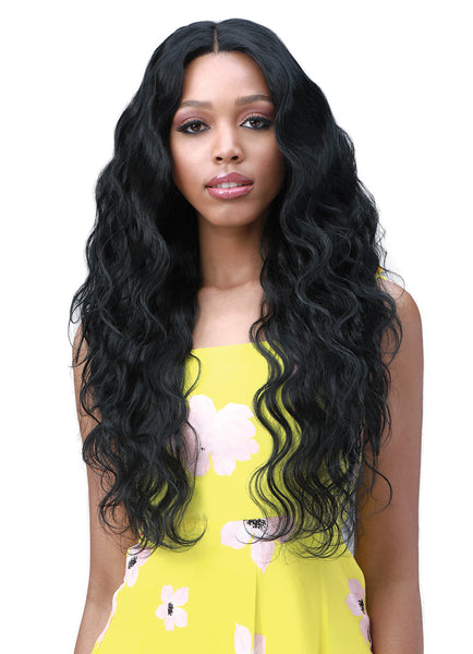 Bobbi Boss Human Hair Blend 13X6 Frontal Lace Wig MOGLWBO26 BODY WAVE 26