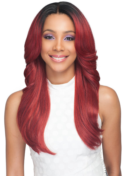 Bobbi Boss Human Hair Blend 360˚ Lace Front Wig MBLF330 TAYLAH