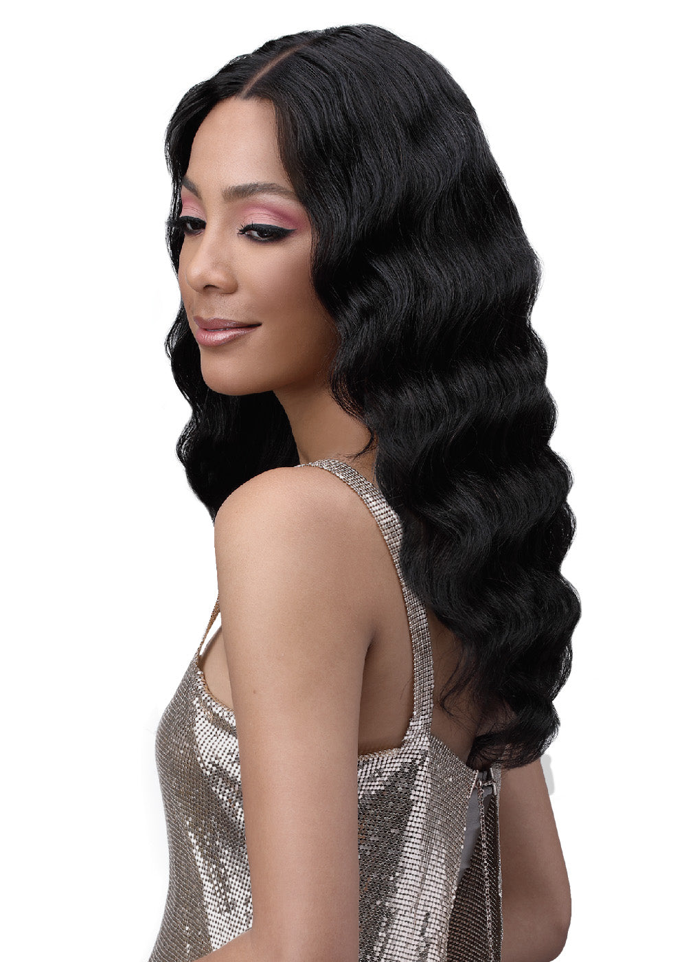 Bobbi Boss 100% Unprocessed Human Bundle Hair Wig MHLF702 DIA