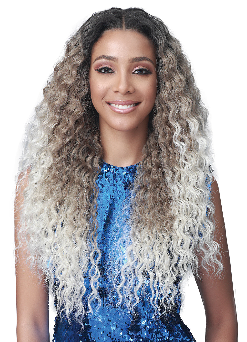 Bobbi Boss Synthetic Glueless 13x4 360 Lace Wig MLF412 CAMILLE