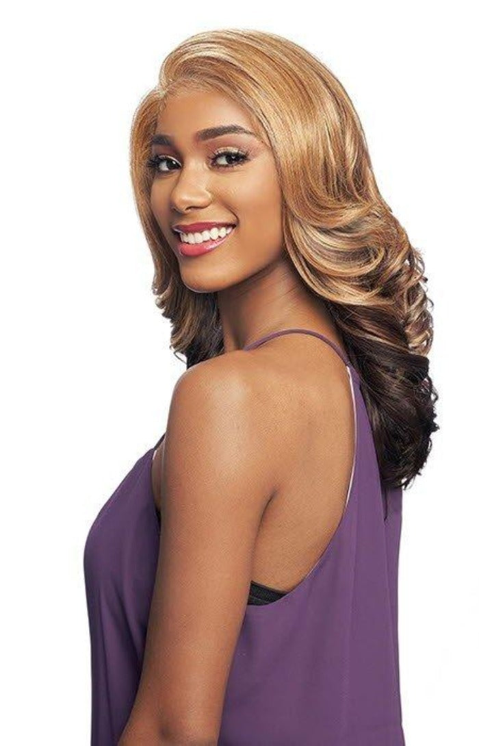 Vanessa All Black Style Lace Front Wig AB MELISSA