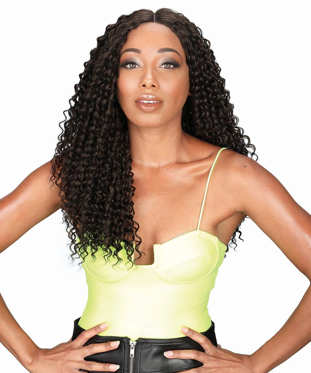 Zury Sis Beyond Synthetic Hair Lace Front Wig BYD LACE H WATER WAVE