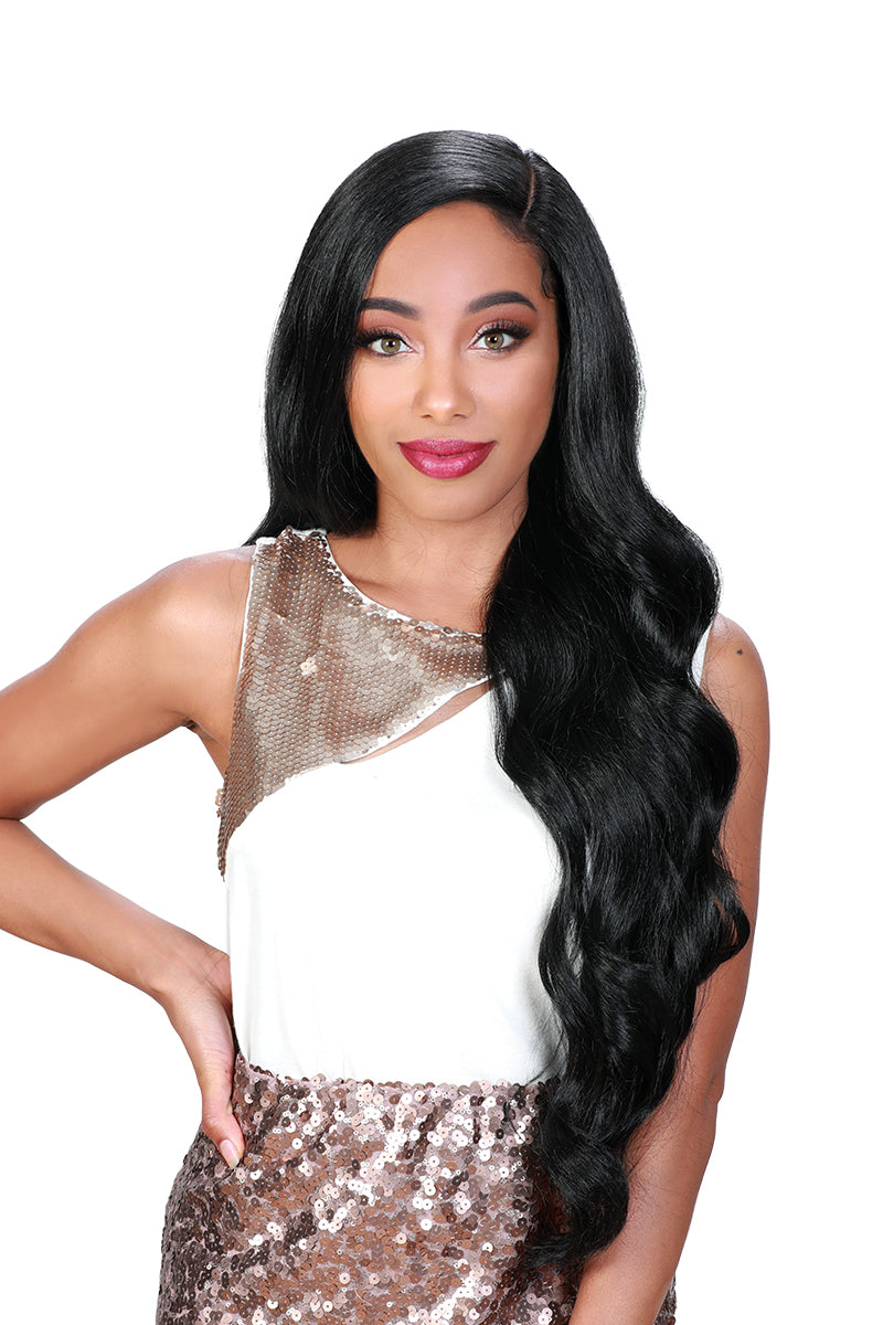 Zury Sis Beyond Synthetic Hair Lace Front Wig BYD PONY H IBAE