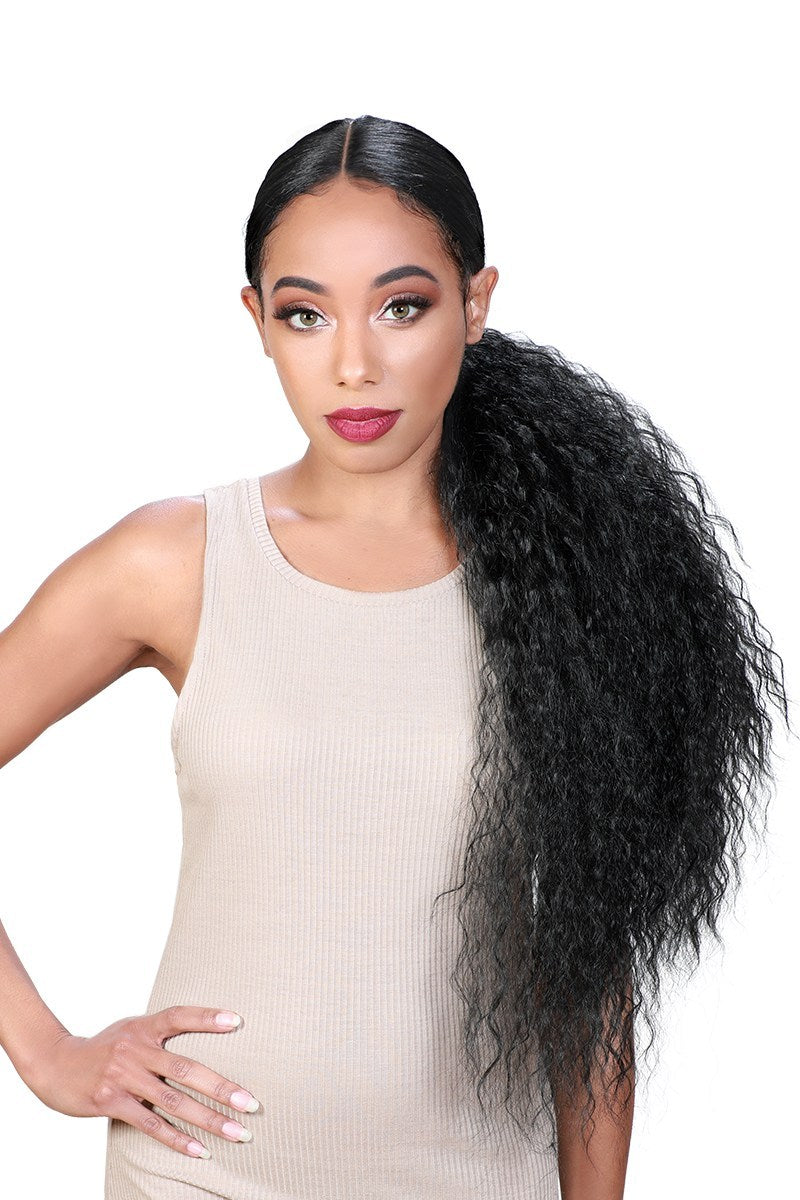 Zury Sis Beyond Synthetic Hair Lace Front Wig BYD PONY H ILIT