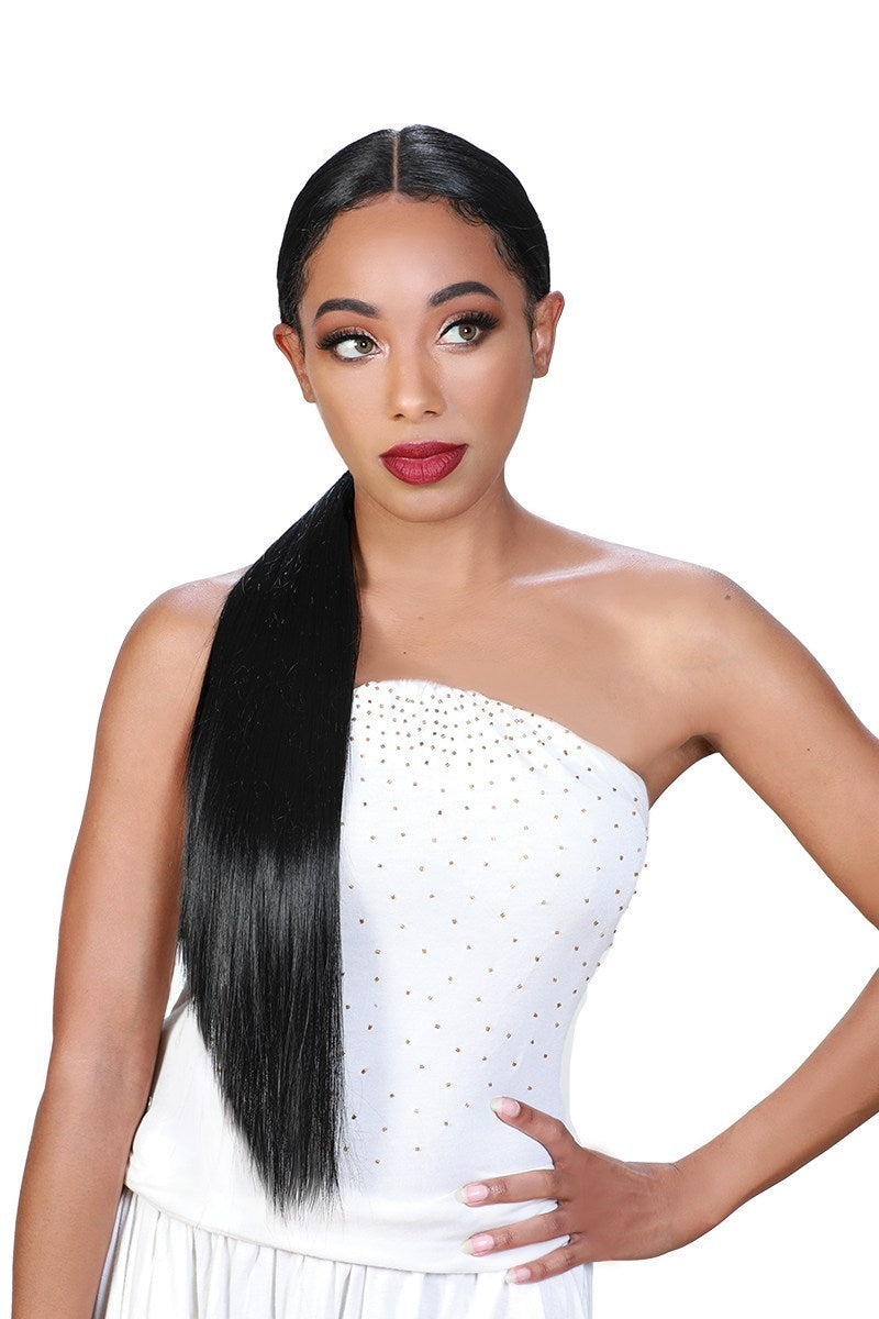 Zury Sis Beyond Synthetic Hair Lace Front Wig BYD PONY H IONE
