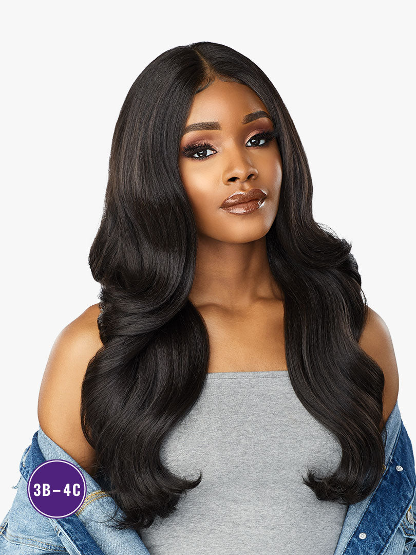 Sensationnel Curls Kinks & Co Synthetic Hair Empress Lace Front Wig ANGEL FACE