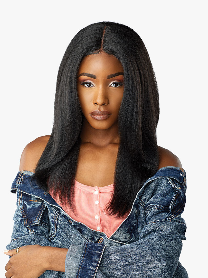 Sensationnel Curls Kinks & Co Synthetic Hair Empress Lace Front Wig ALPHA WOMAN