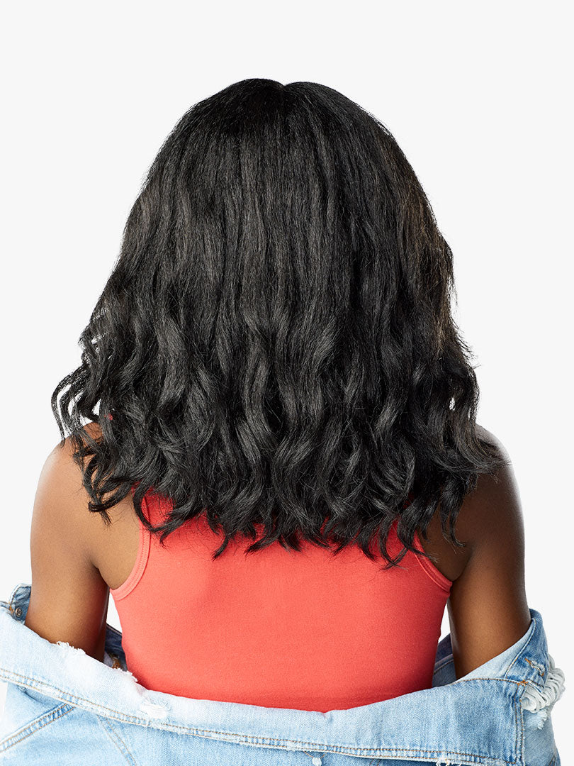 Sensationnel Curls Kinks & Co Synthetic Hair Empress Lace Front Wig BORN STUNNA