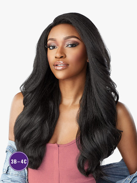 Sensationnel Curls Kinks & Co Synthetic Hair Empress Lace Front Wig SUGAR BABY
