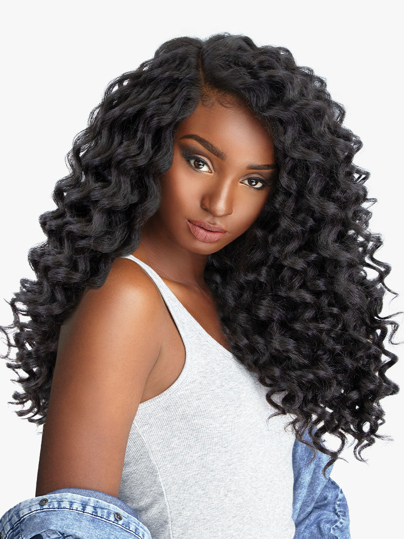 Sensationnel Curls Kinks & Co Synthetic Hair Empress Lace Front Wig WILD ONE