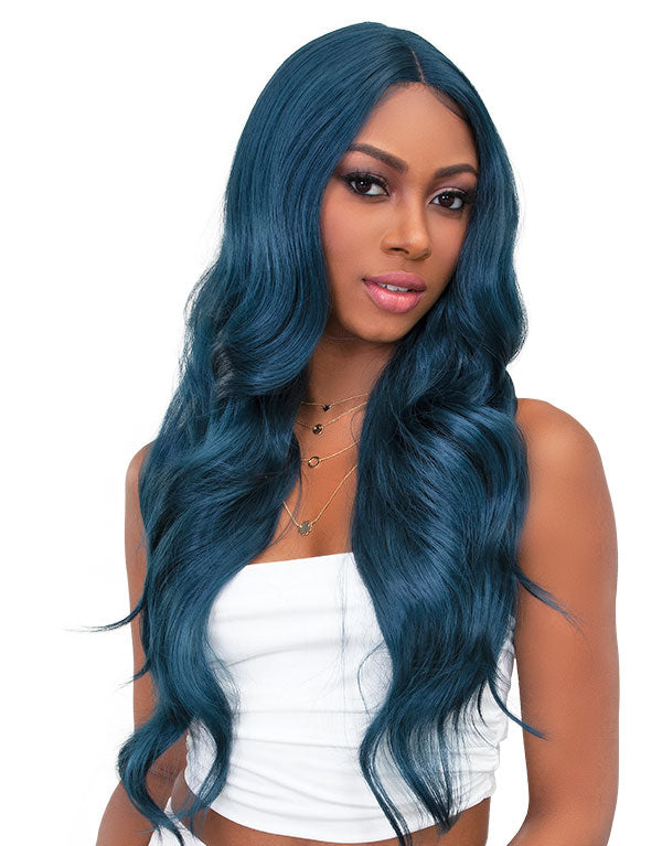 Janet Collection Synthetic Swiss Lace Front Wig Color Me MARY