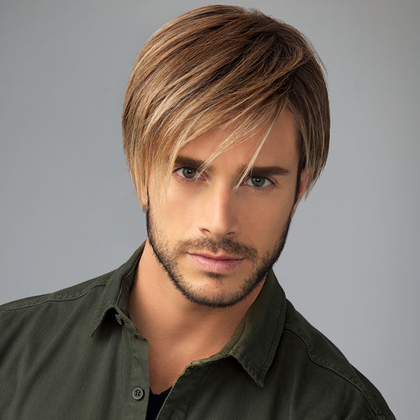 HIM Men's synthetic wig Chiseled