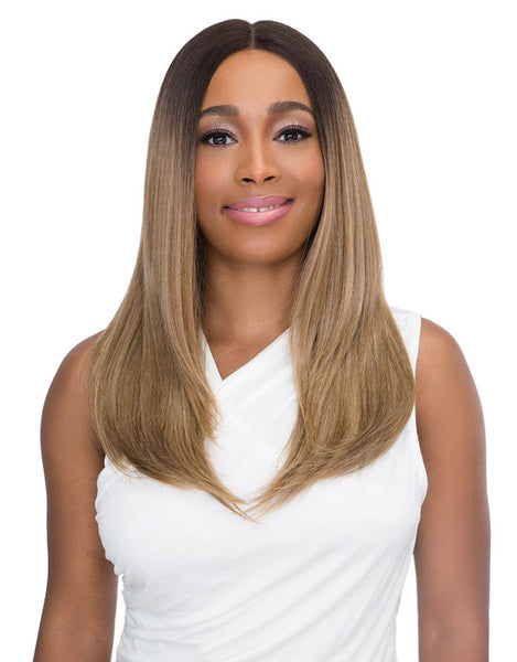 Janet Collection Premium Fiber Extended Deep Part Lace Front Wig NUNU