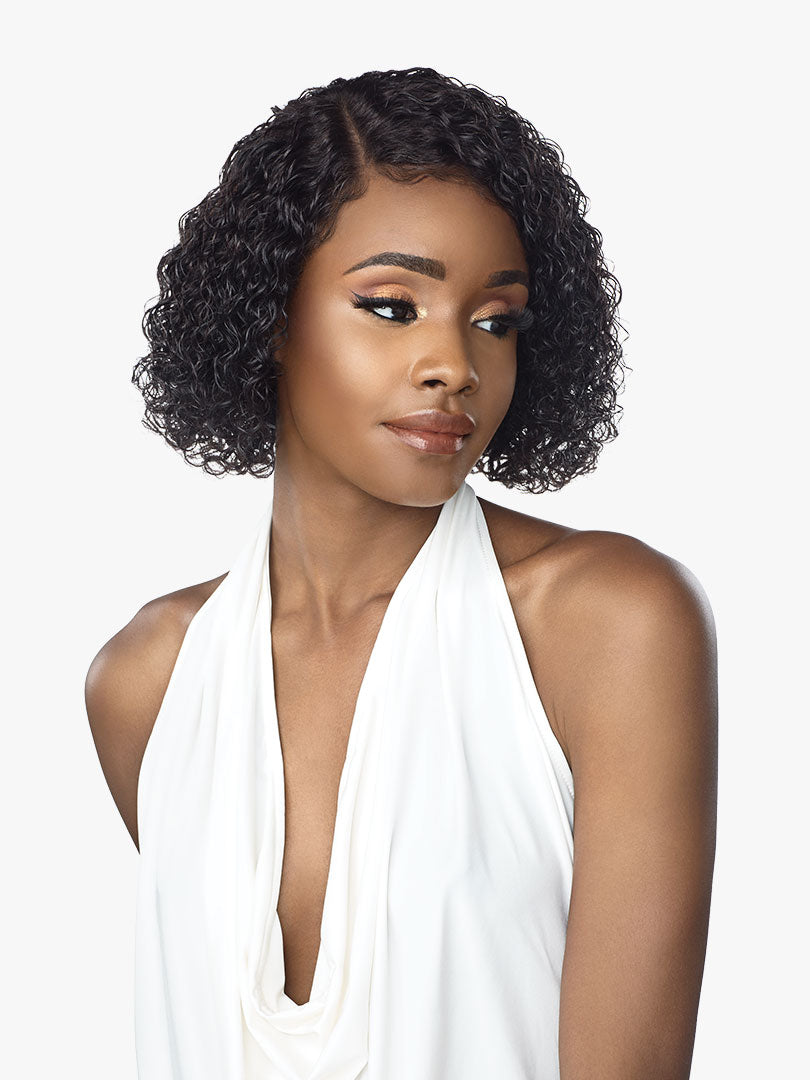 Sensationnel Human Hair Empire Lace Front Wig JONI