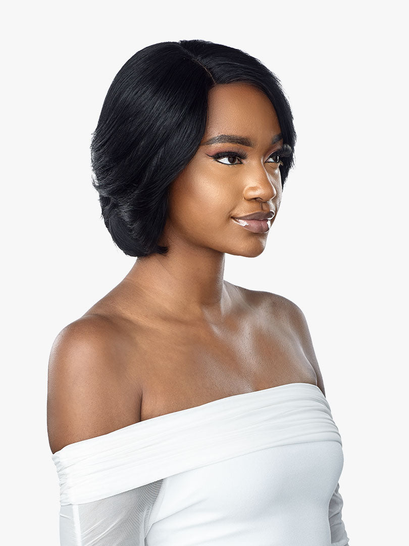 Sensationnel Human Hair Empire Lace Front Wig SHIRLEY