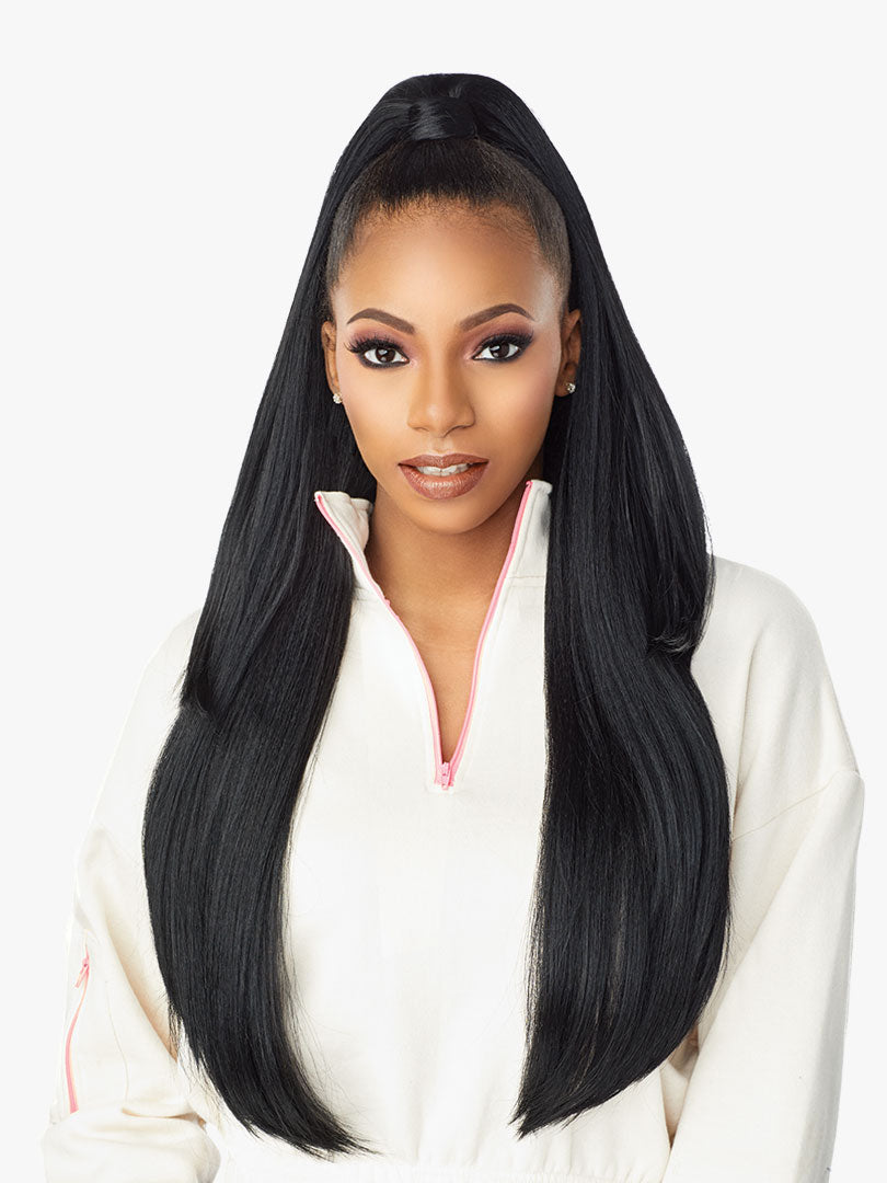 Sensationnel Instant Up & Down Pony Wrap Half Wig UD 8