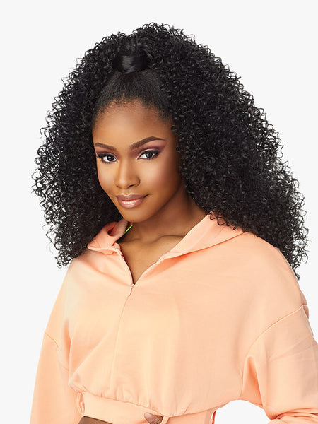Sensationnel Instant Up & Down Pony Wrap Half Wig UD 3
