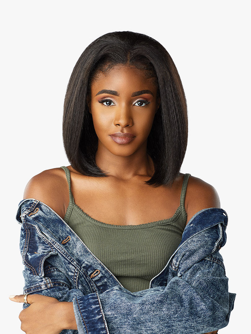 Sensationnel Instant Weave Curls Kinks & CO Synthetic Half Wig BOSS BABE