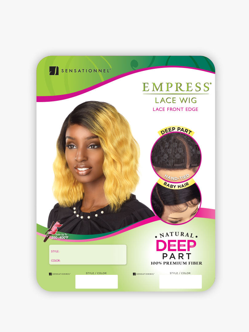 Empress Natural Curved Part Lace Front Wig JAYLYN