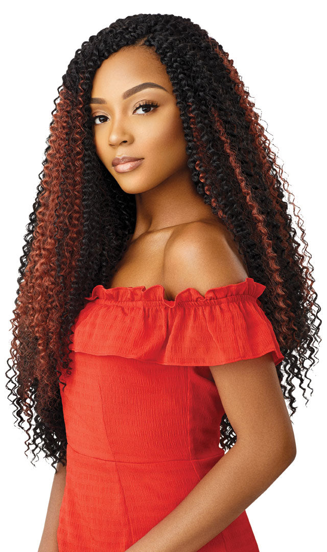 Outre X-PressionSynthetic Crochet Braids PASSION JERRY CURL 22 (B1G1)