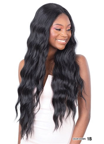 Model Model Synthetic Lace Front Wig Mint LML02