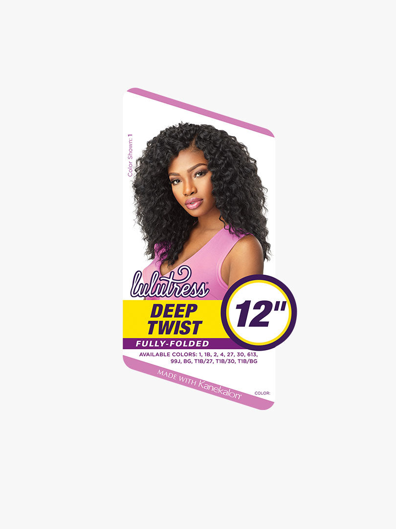 "Sensationnel Lulutress Crochet Braid DEEP TWIST 12"" (B1G1)"