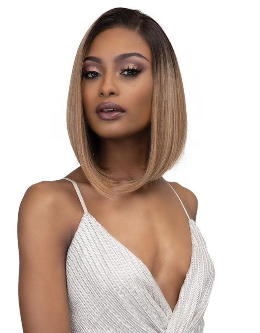 Janet Collection Synthetic Melt Extended Deep HD Part Lace Wig ASIA