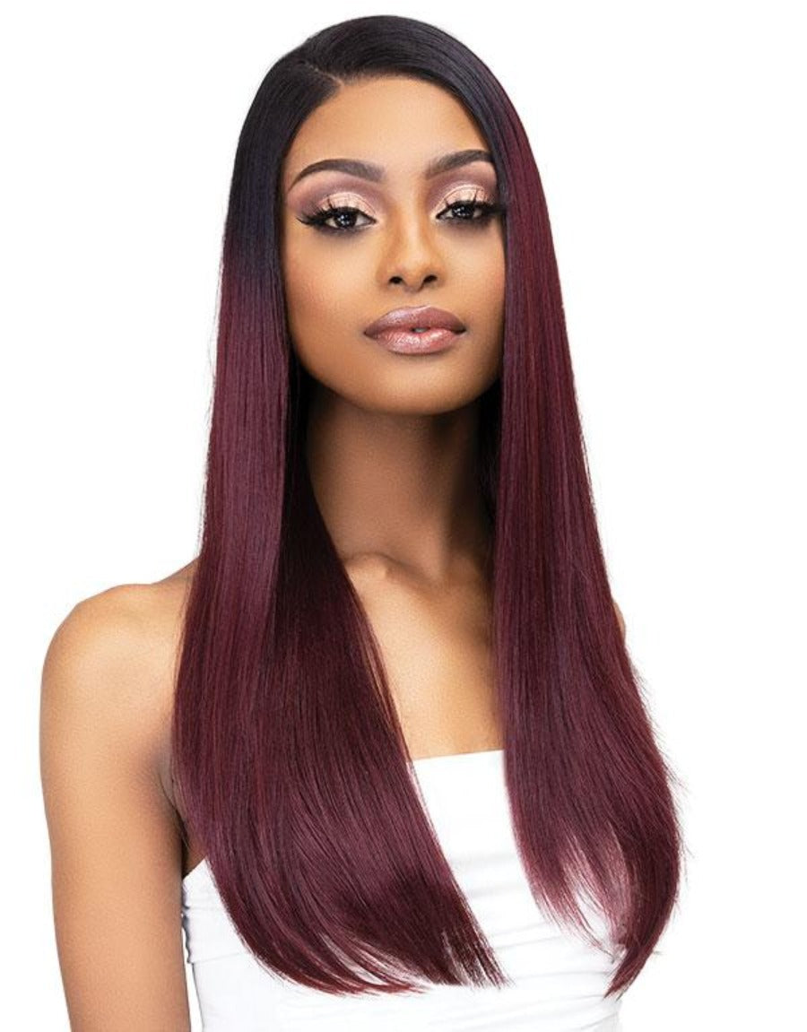 Janet Collection Synthetic Melt Extended Deep HD Part Lace Wig BISA